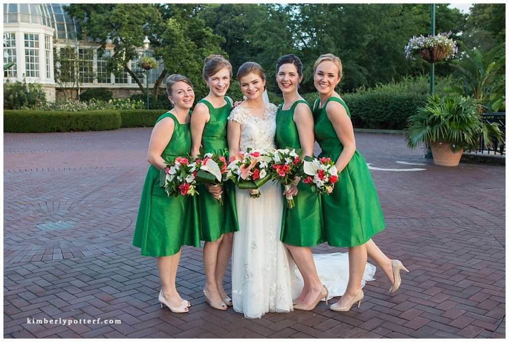 A Tropical-Inspired Wedding at the Franklin Park Conservatory 116