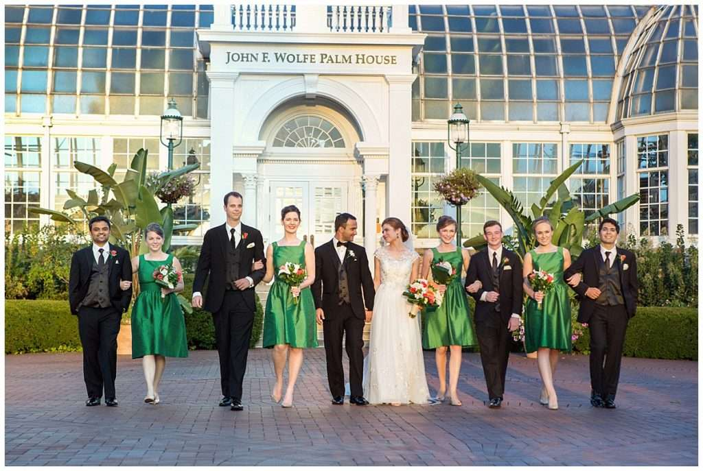 A Tropical-Inspired Wedding at the Franklin Park Conservatory 124