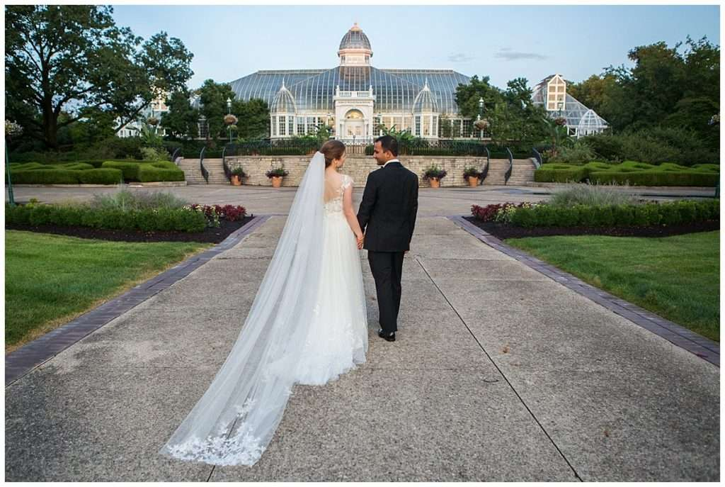 A Tropical-Inspired Wedding at the Franklin Park Conservatory 128