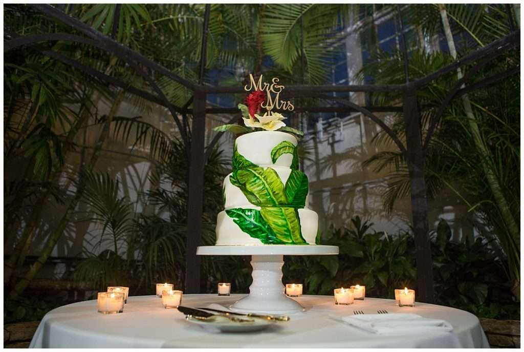 A Tropical-Inspired Wedding at the Franklin Park Conservatory 150