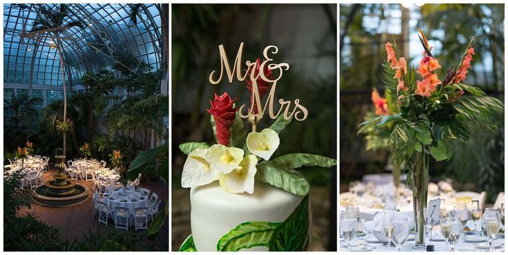 A Tropical-Inspired Wedding at the Franklin Park Conservatory 152