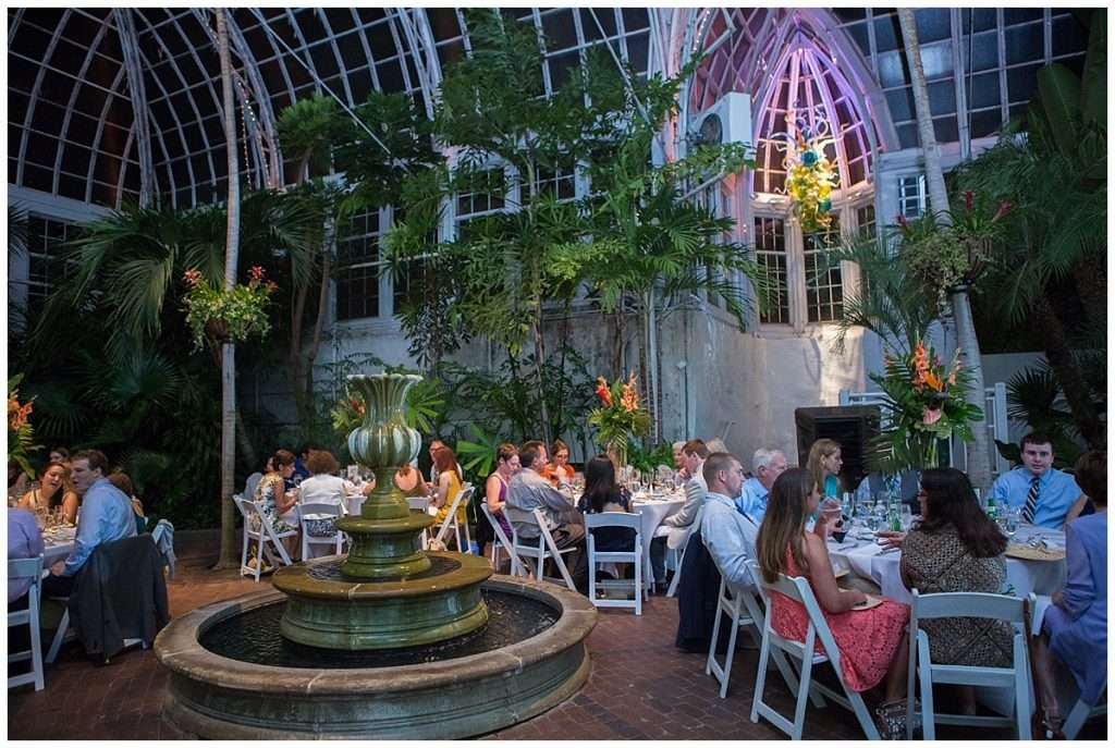 A Tropical-Inspired Wedding at the Franklin Park Conservatory 156
