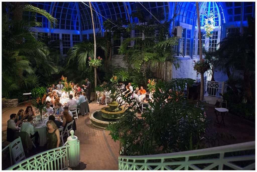 A Tropical-Inspired Wedding at the Franklin Park Conservatory 148