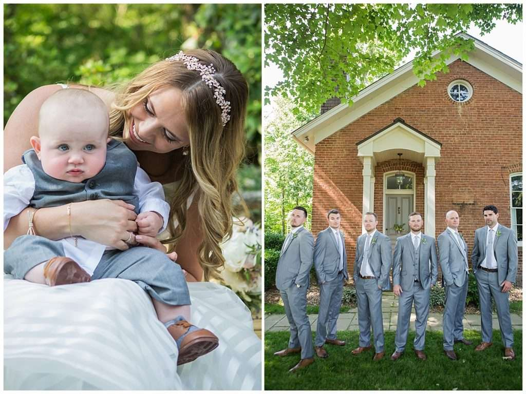 Glamorous Backyard Wedding in Southern Ohio 56