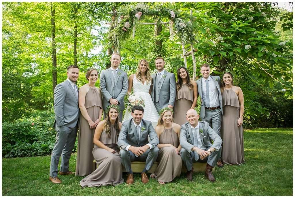 Glamorous Backyard Wedding in Southern Ohio 68
