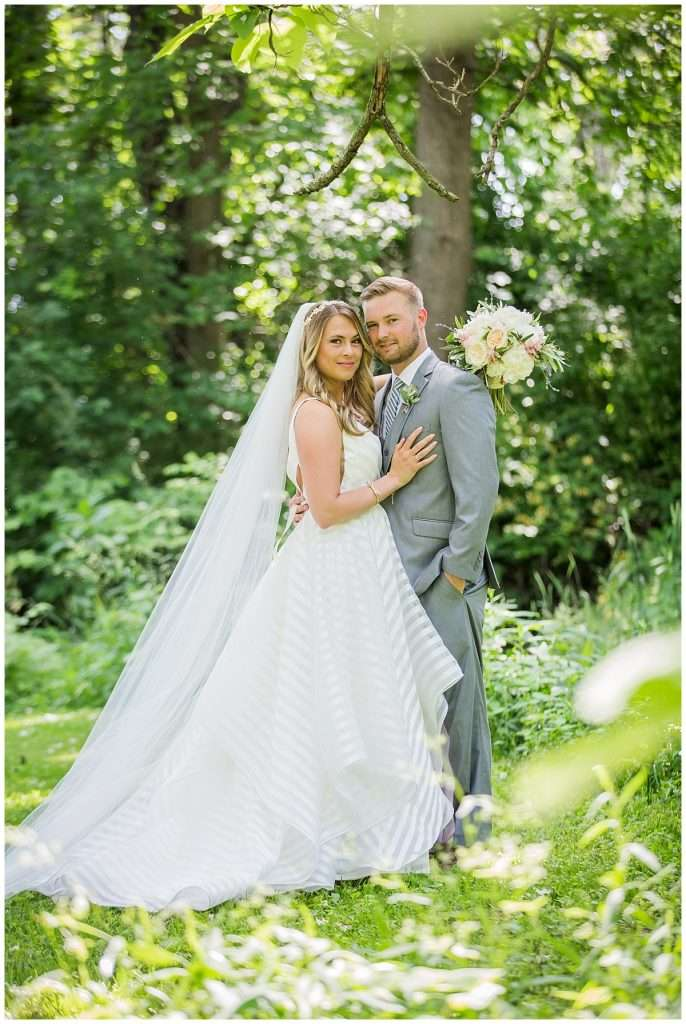 Glamorous Backyard Wedding in Southern Ohio 32