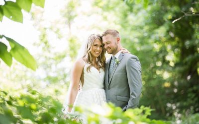 Southern Ohio Backyard Glam Wedding