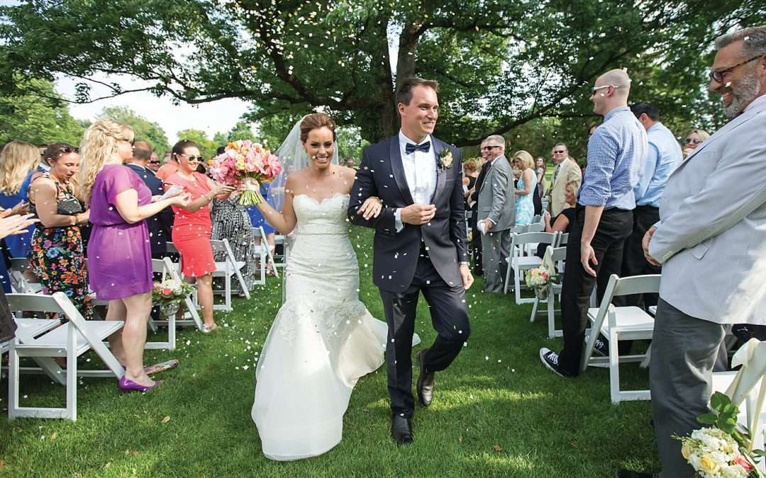 Kim & Lee | A Summer Wedding at Brookside Country Club