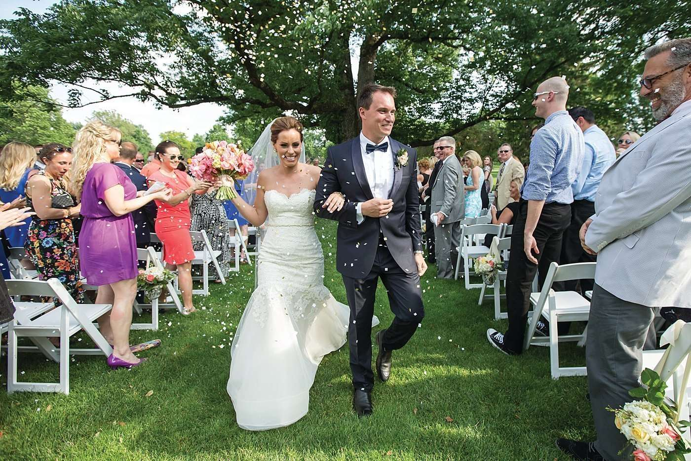 Kim & Lee | A Summer Wedding at Brookside Country Club 2