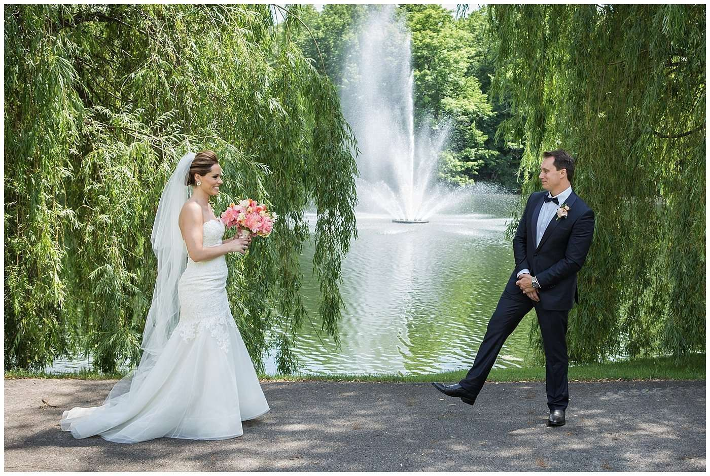 Kim & Lee | A Summer Wedding at Brookside Country Club 42