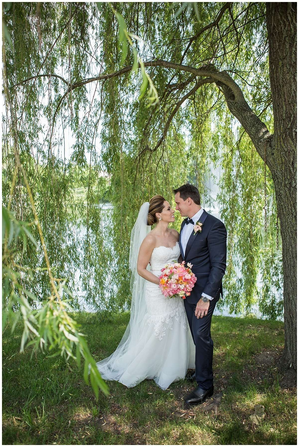 Kim & Lee | A Summer Wedding at Brookside Country Club 56