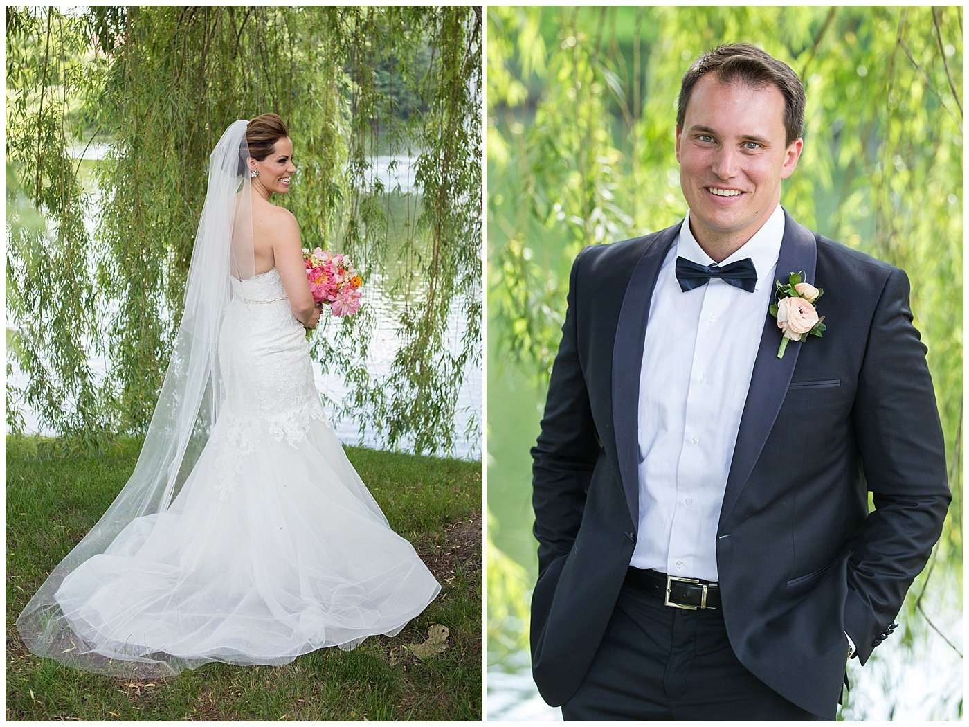 Kim & Lee | A Summer Wedding at Brookside Country Club 58