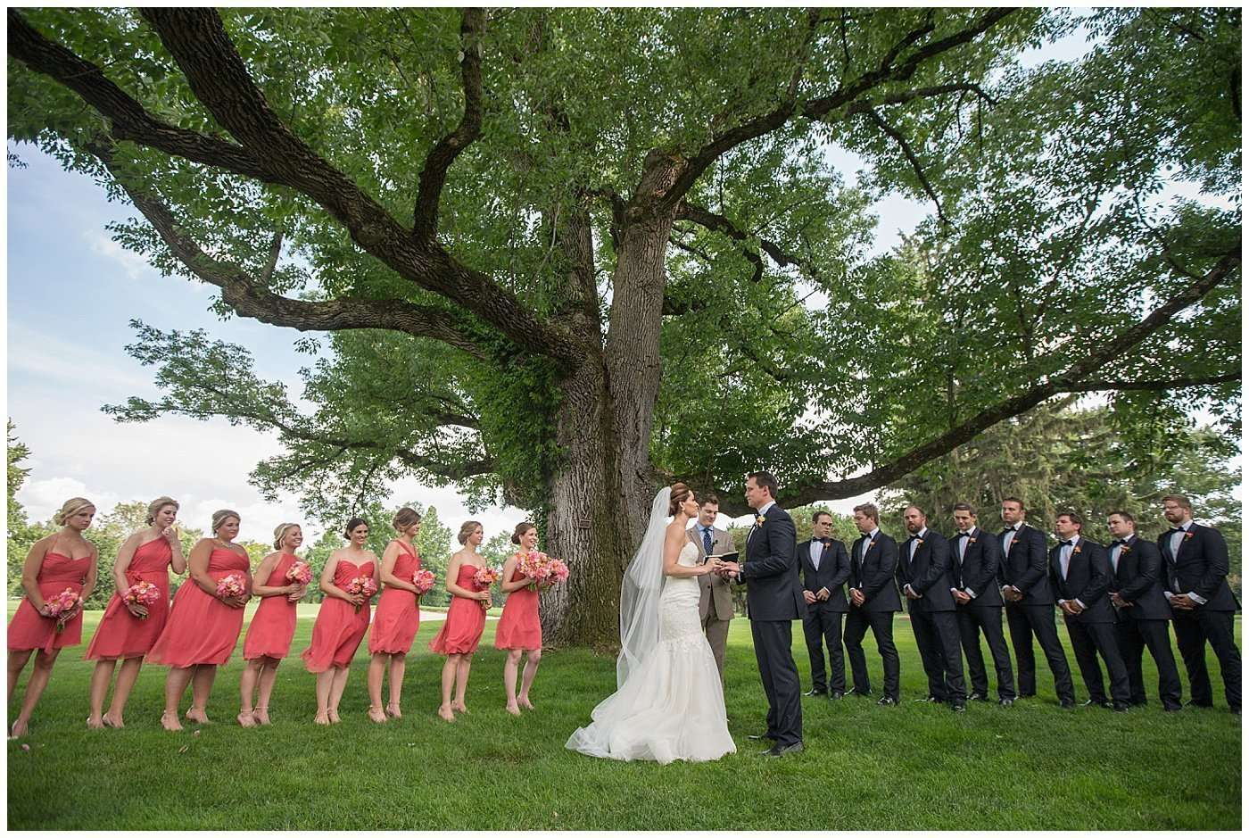 Kim & Lee | A Summer Wedding at Brookside Country Club 124