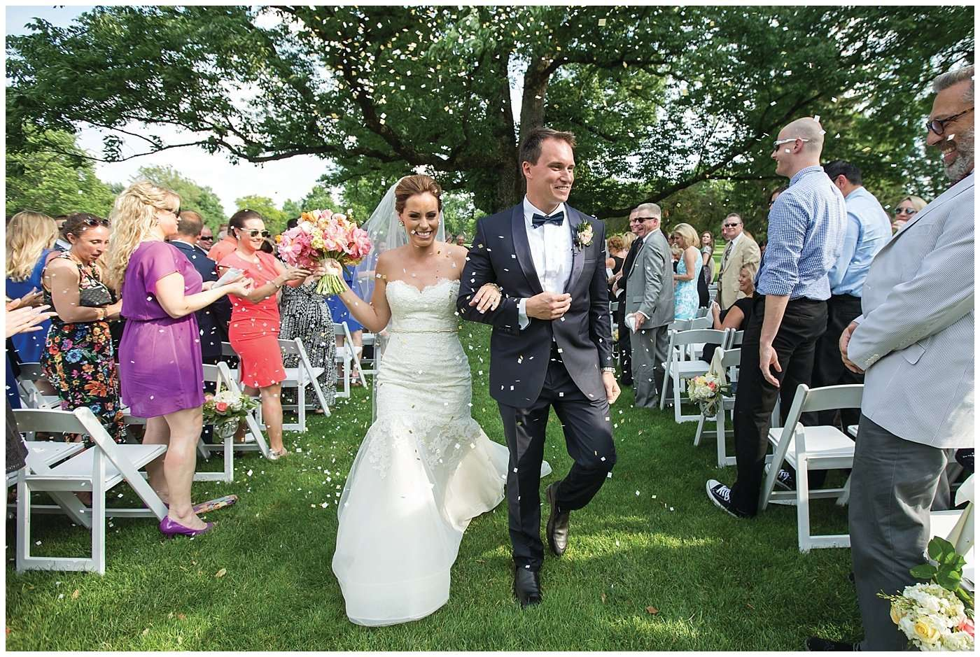 Kim & Lee | A Summer Wedding at Brookside Country Club 136