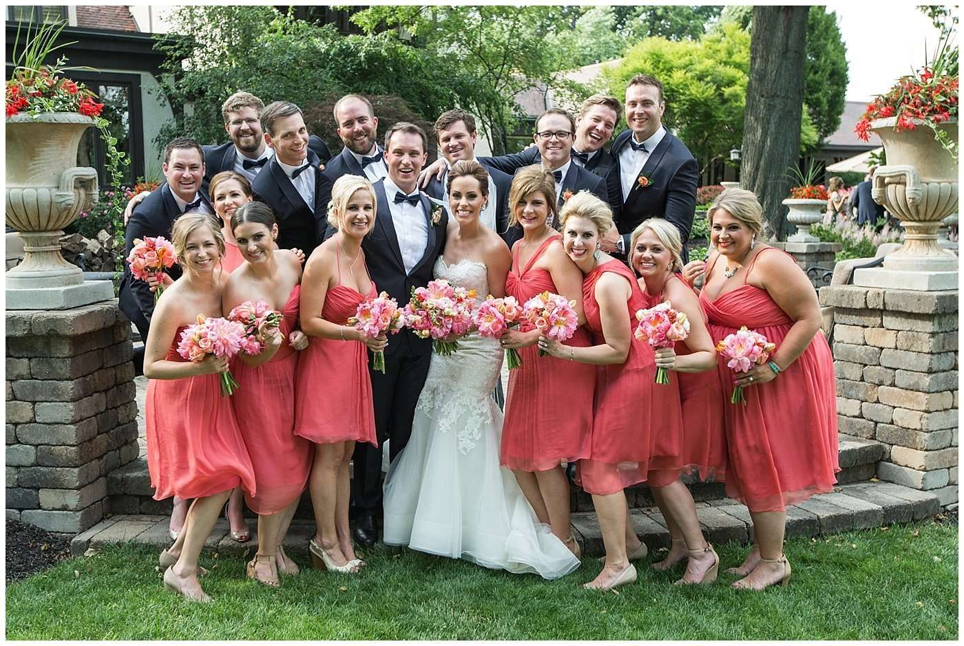 Kim & Lee | A Summer Wedding at Brookside Country Club 148