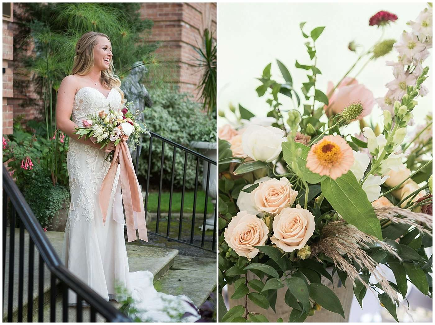 Jake & Abbie | A Swoon-Worthy Wedding at Breathtaking Garden Estate 40