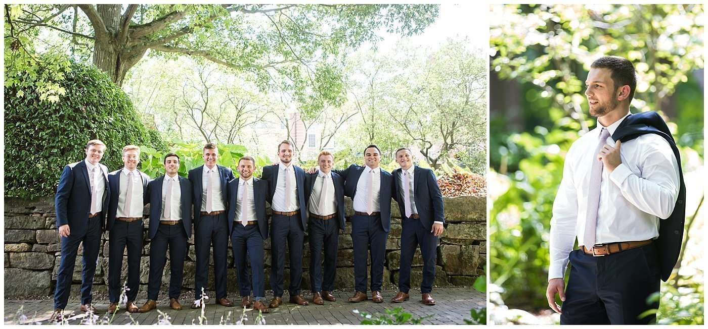 Garden Inspired Wedding at Kingwood Center 68