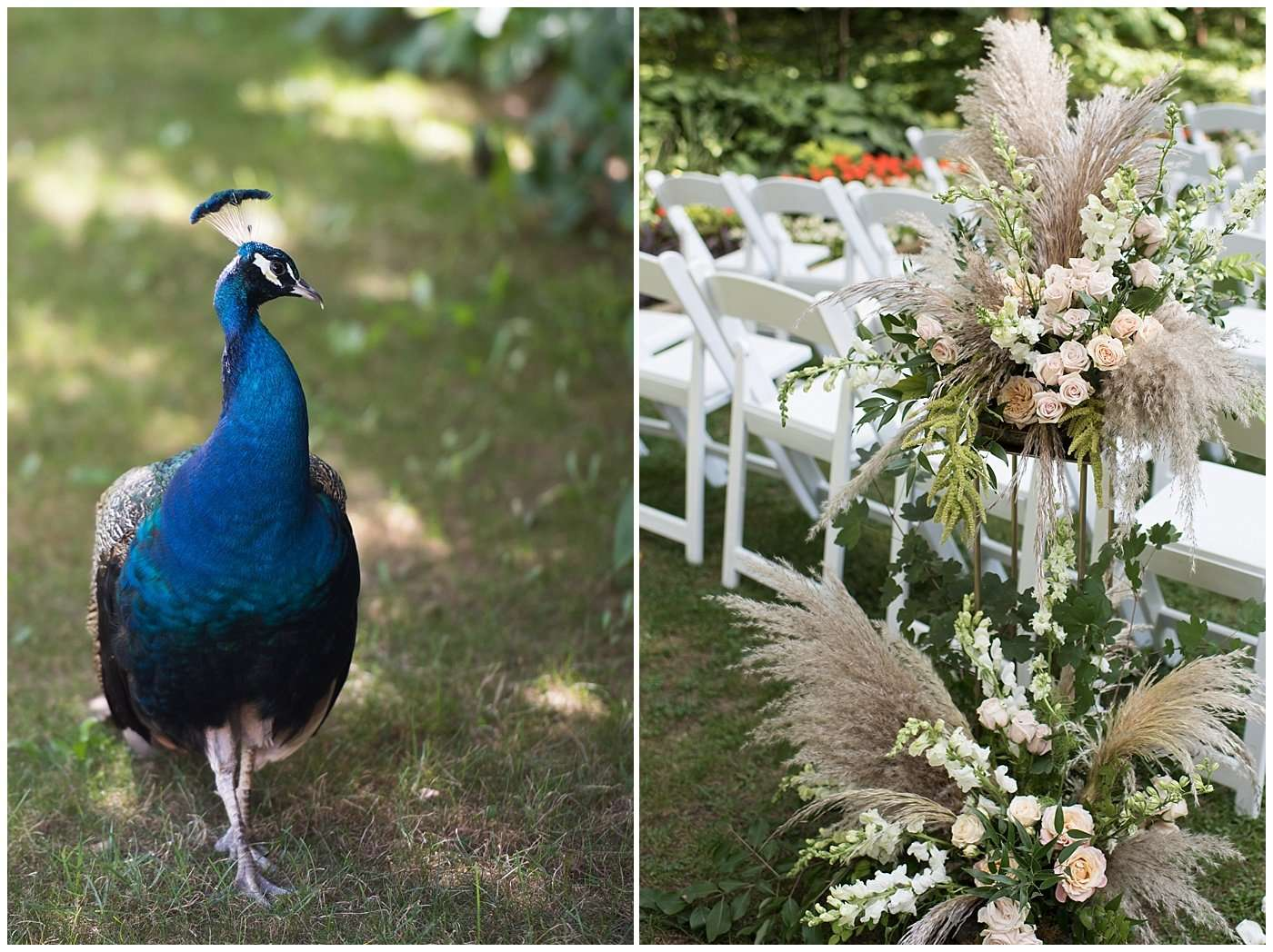 Garden Inspired Wedding at Kingwood Center 70