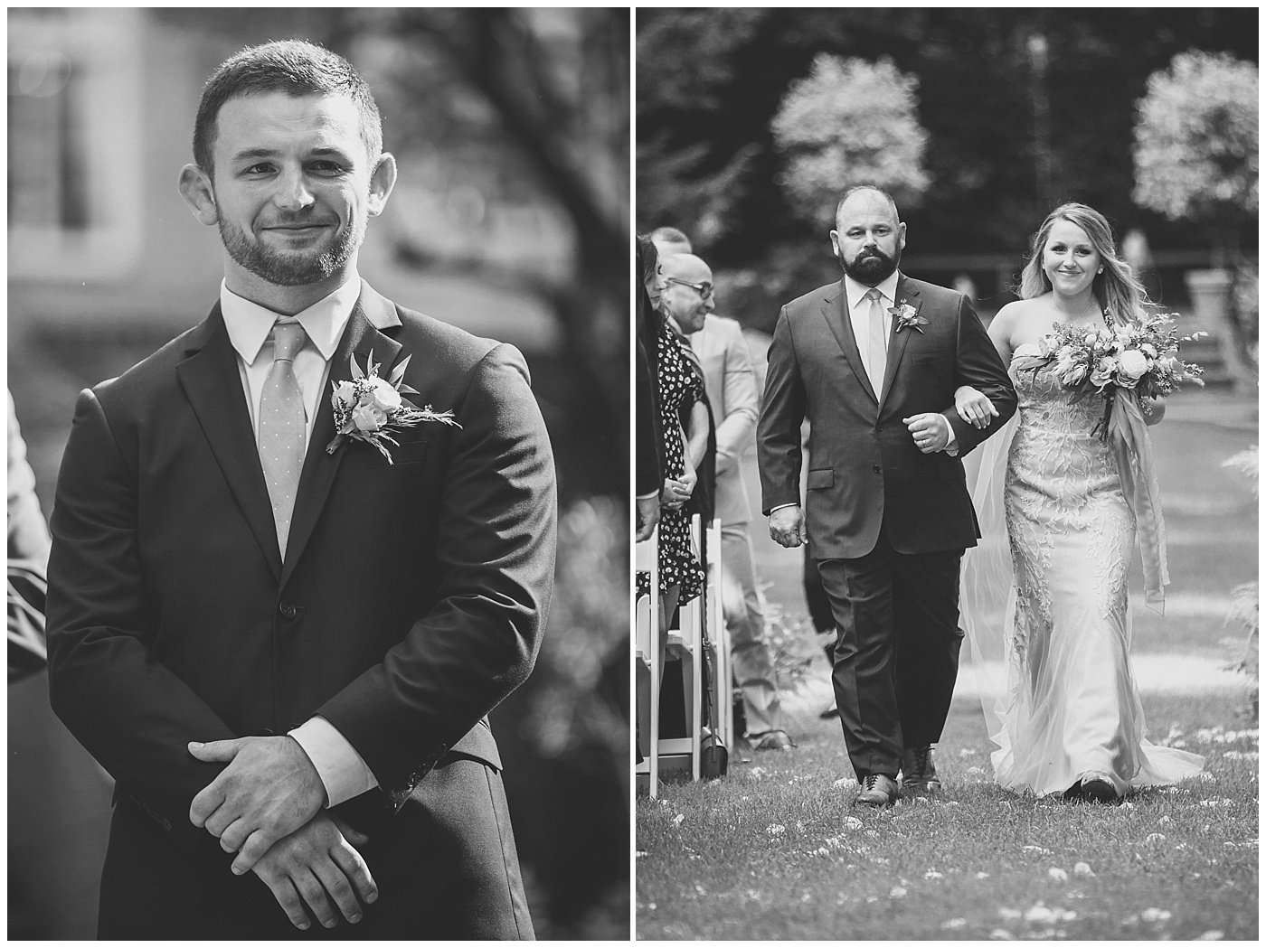 Jake & Abbie | A Swoon-Worthy Wedding at Breathtaking Garden Estate 96