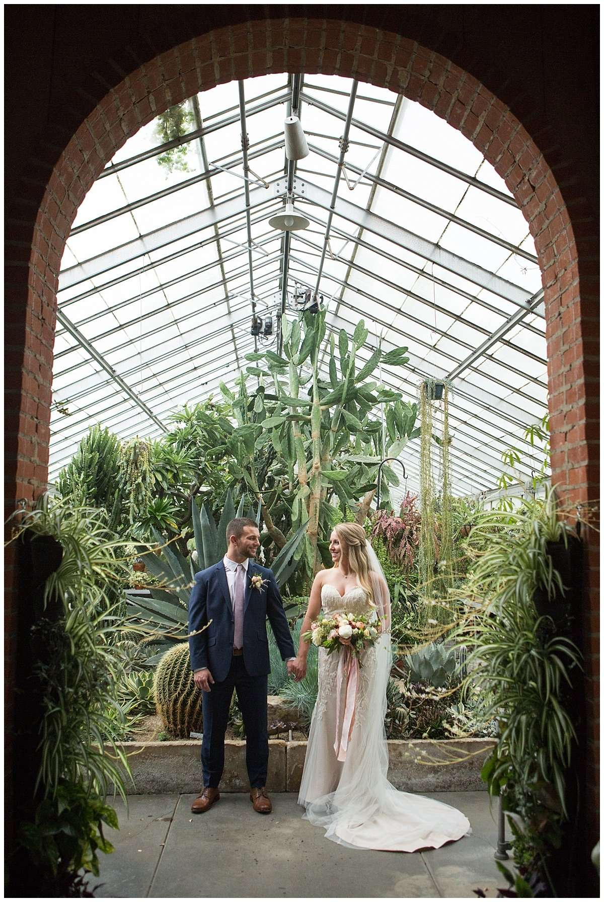 Garden Inspired Wedding at Kingwood Center 146