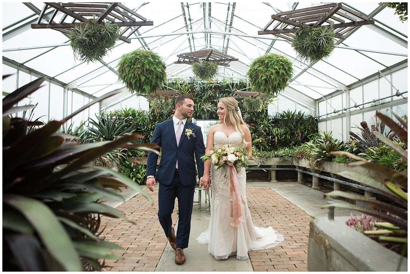 Garden Inspired Wedding at Kingwood Center 156