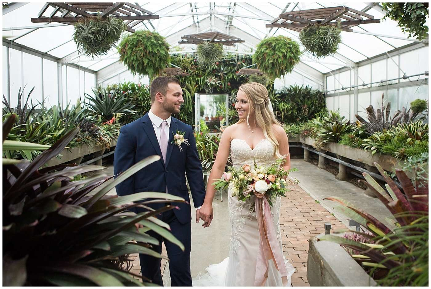 Garden Inspired Wedding at Kingwood Center 158