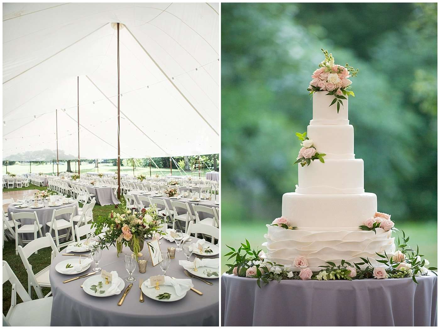 Garden Inspired Wedding at Kingwood Center 164