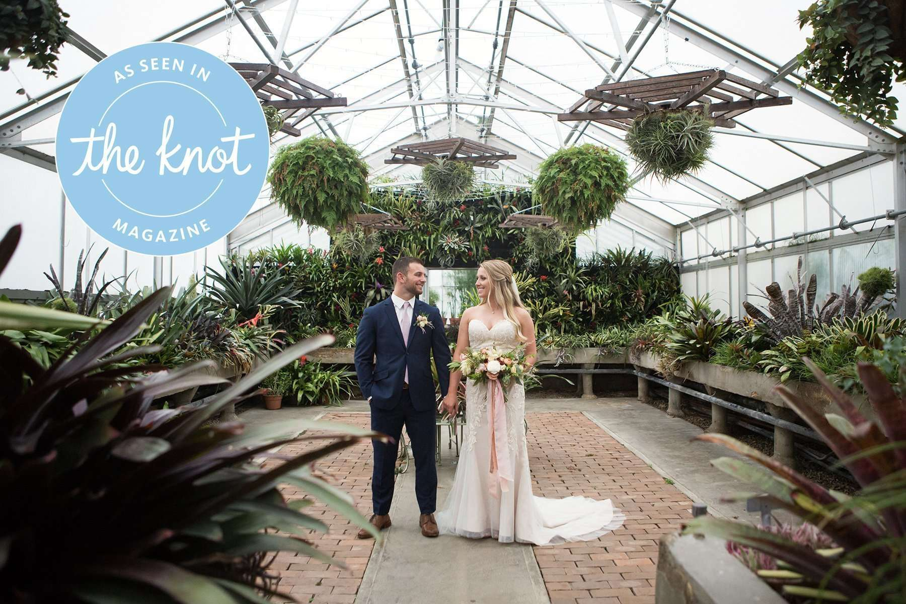 Garden Inspired Wedding at Kingwood Center 2