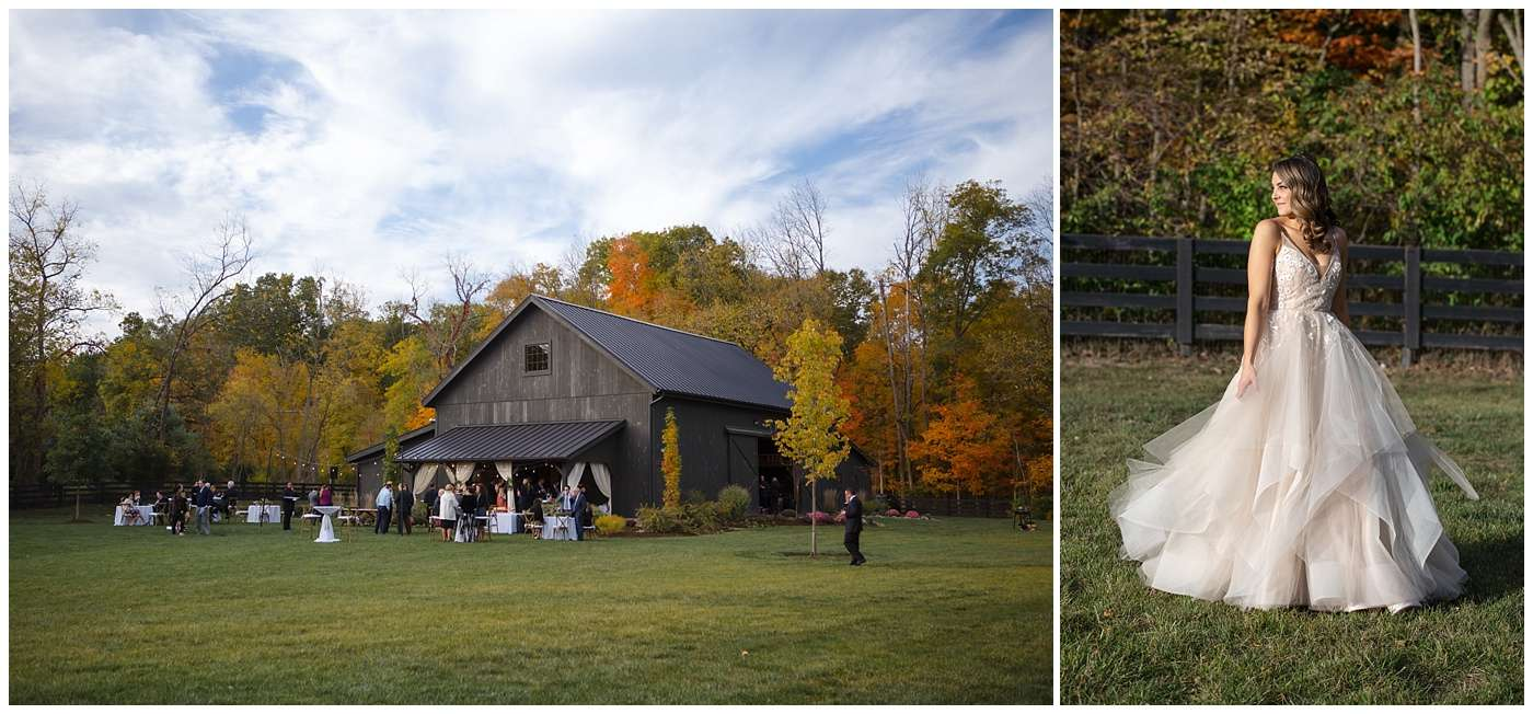 Fall Wedding Photos | Historic Barn in Dublin, Ohio 130