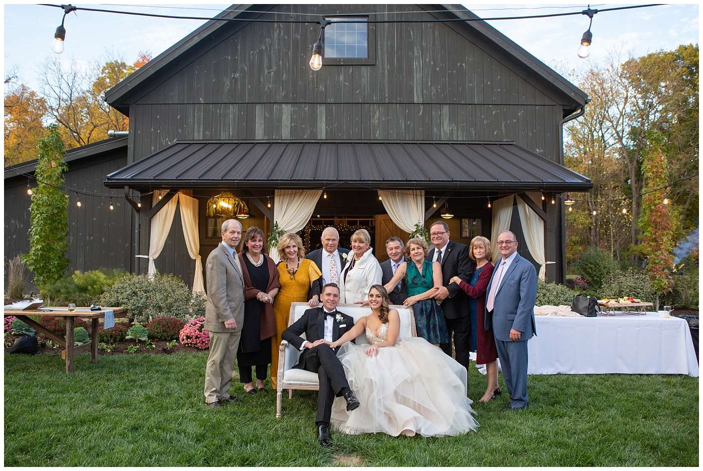 Fall Wedding Photos | Historic Barn in Dublin, Ohio 132