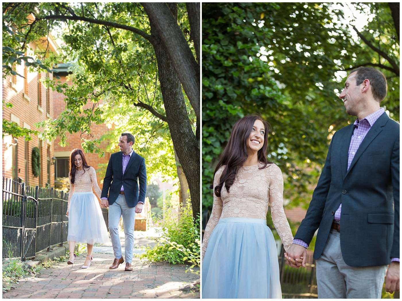 German Village Engagement Photos | Columbus Ohio Photography 6