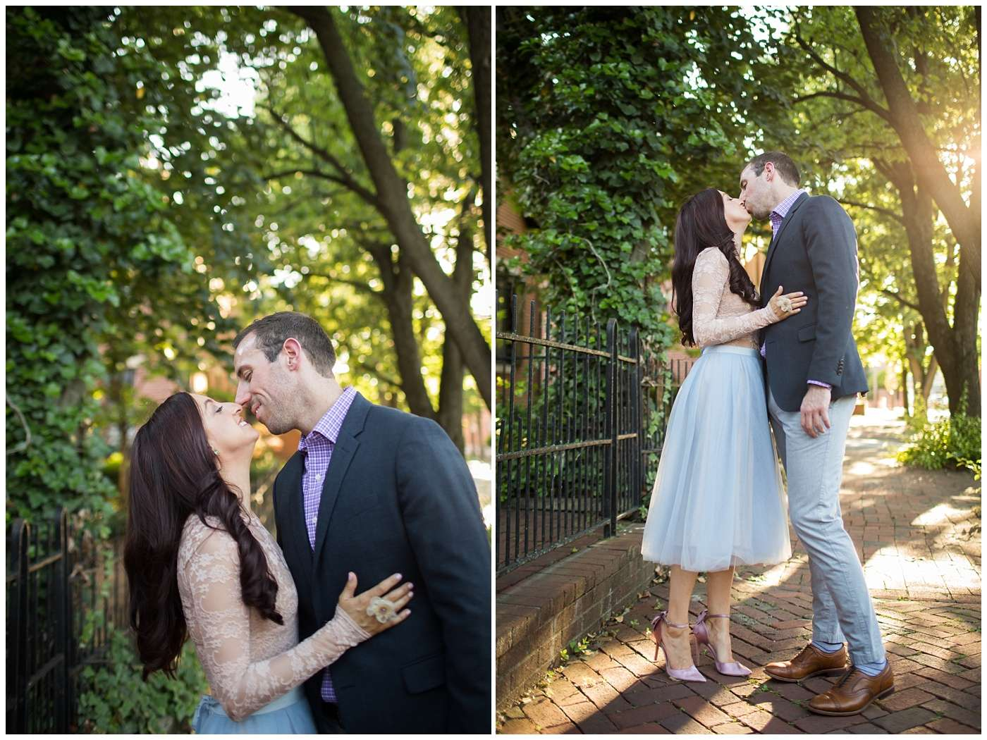 German Village Engagement Photos | Columbus Ohio Photography 10