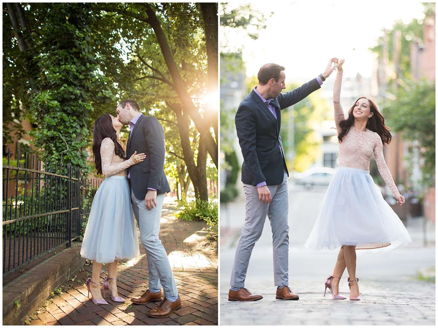 German Village Engagement Photos | Columbus Ohio Photography 28