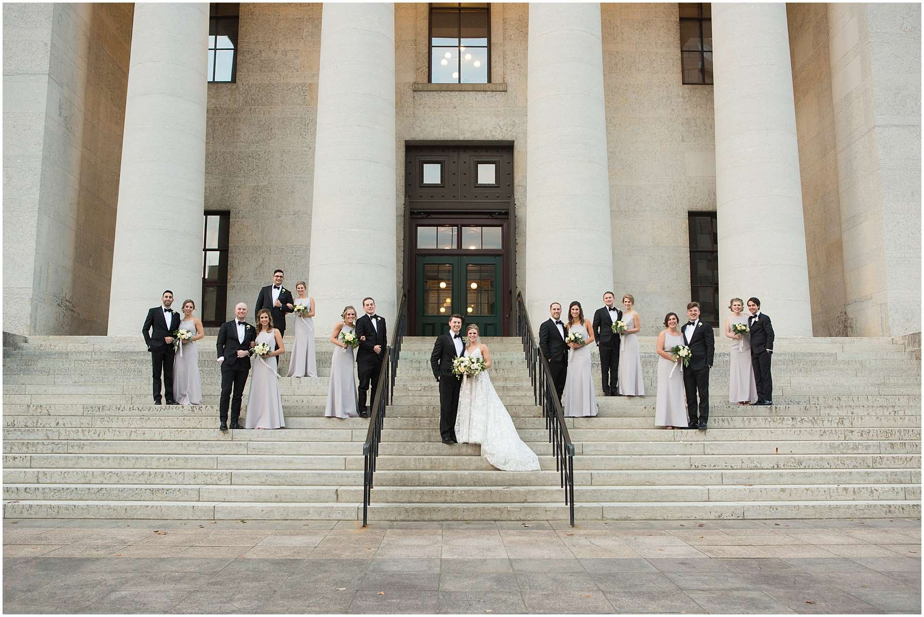 Wedding at the Ohio Statehouse | Columbus Ohio Weddings 148