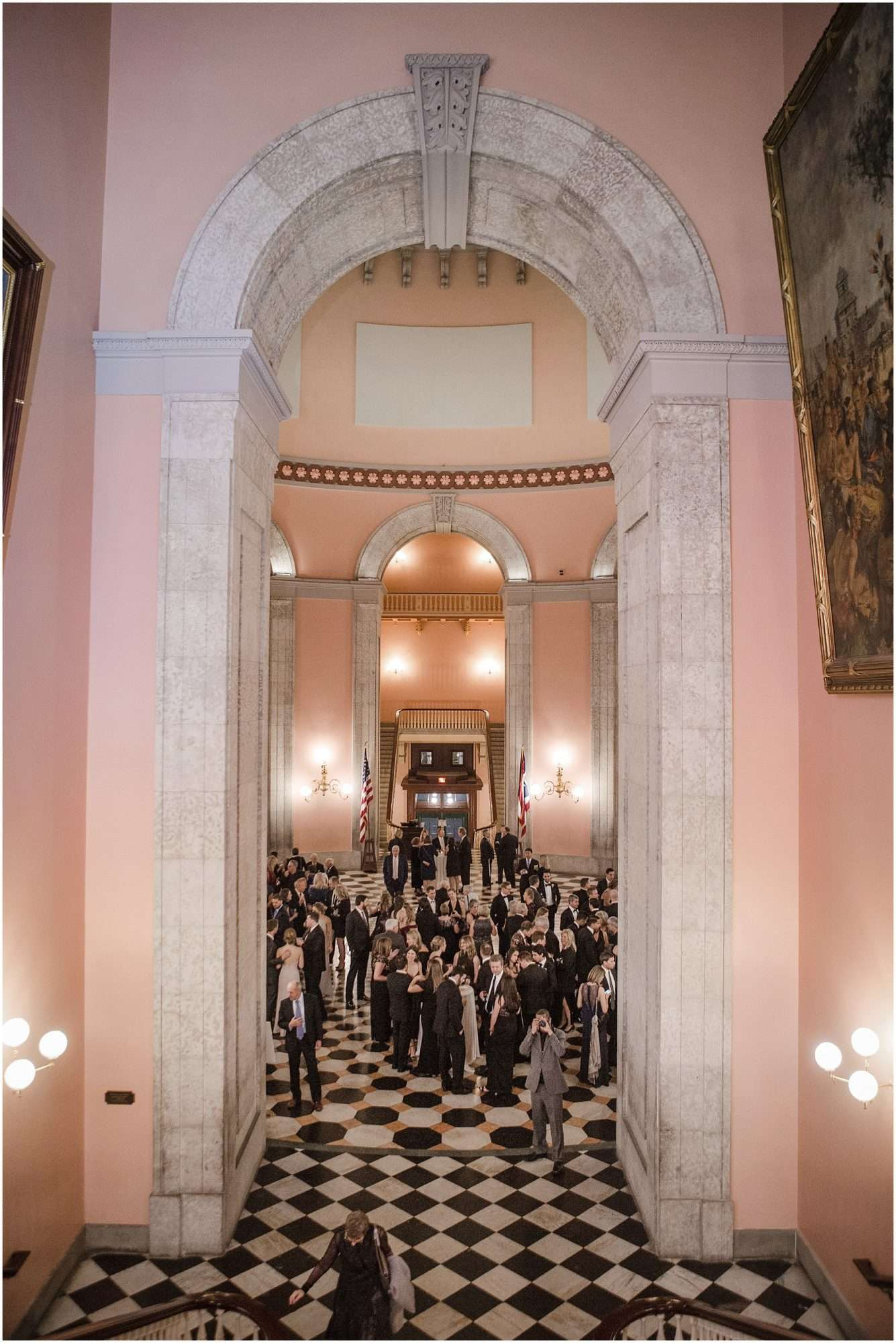 Wedding at the Ohio Statehouse | Columbus Ohio Weddings 176