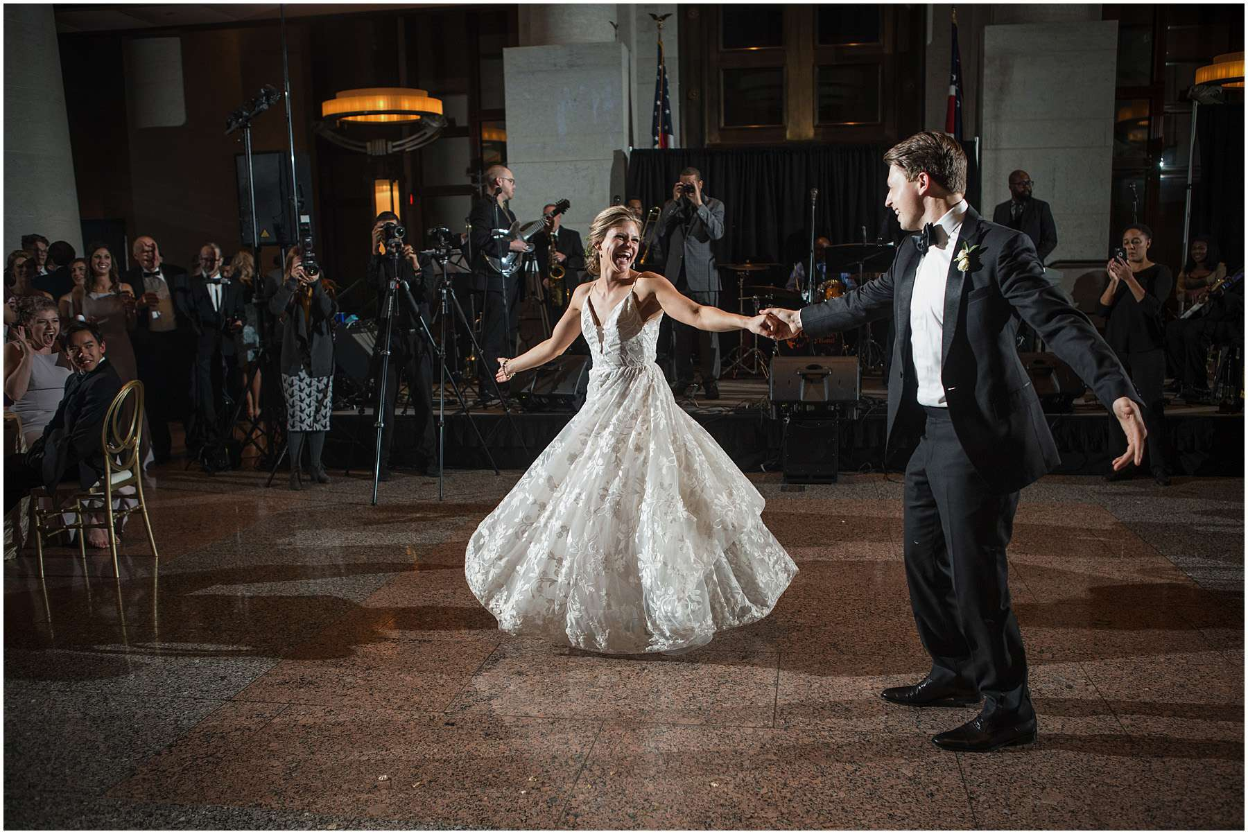Wedding at the Ohio Statehouse | Columbus Ohio Weddings 216