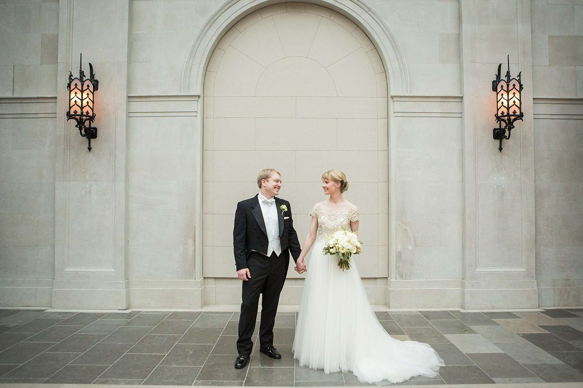 Perfect Winter Wedding at the Columbus Museum of Art 2