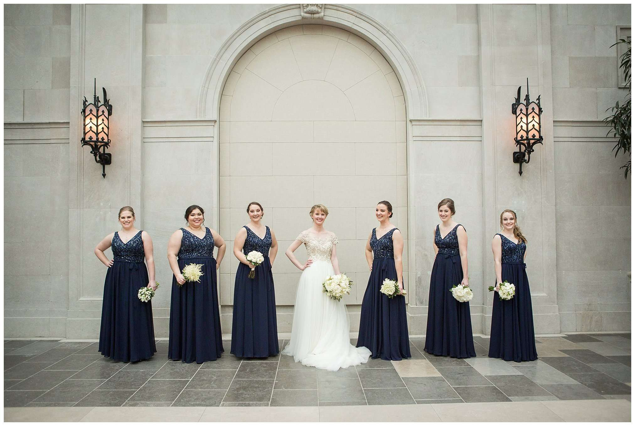 Perfect Winter Wedding at the Columbus Museum of Art 30