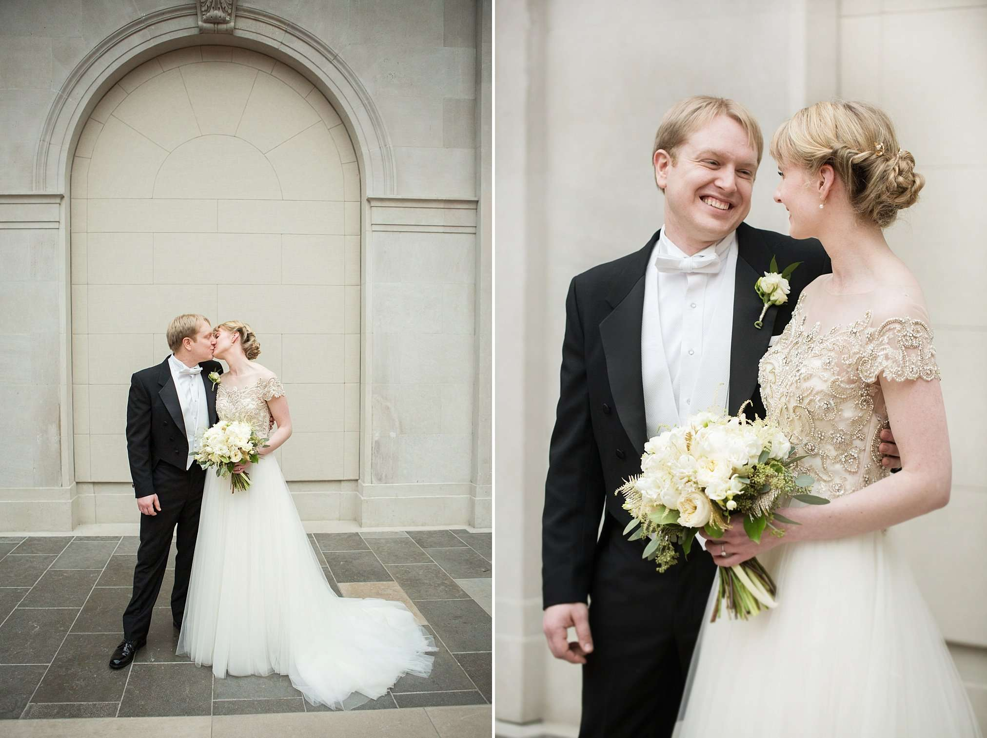 Perfect Winter Wedding at the Columbus Museum of Art 28
