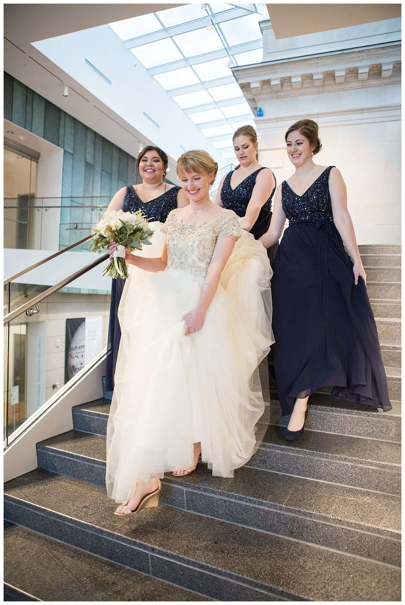 Perfect Winter Wedding at the Columbus Museum of Art 48