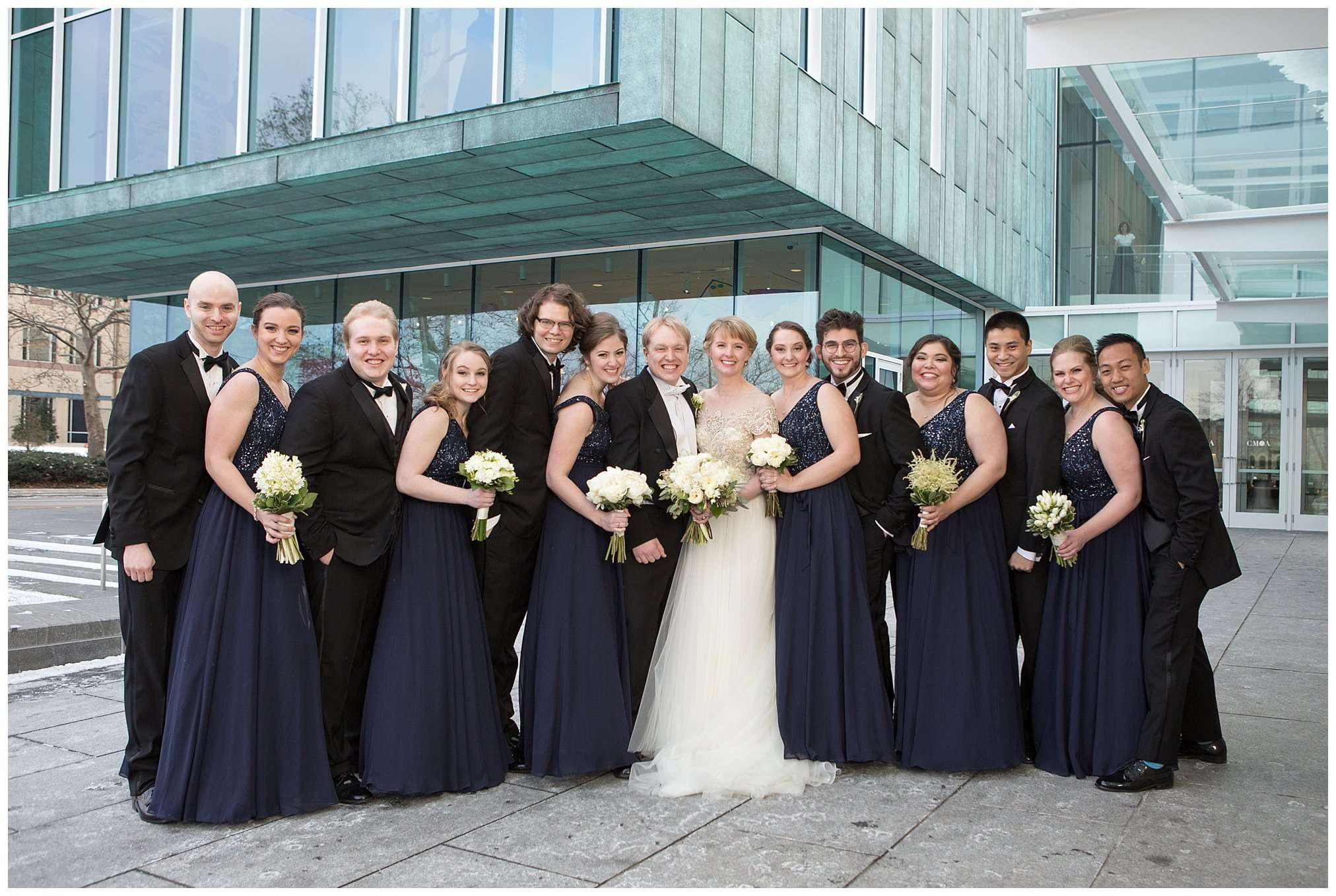 Perfect Winter Wedding at the Columbus Museum of Art 52