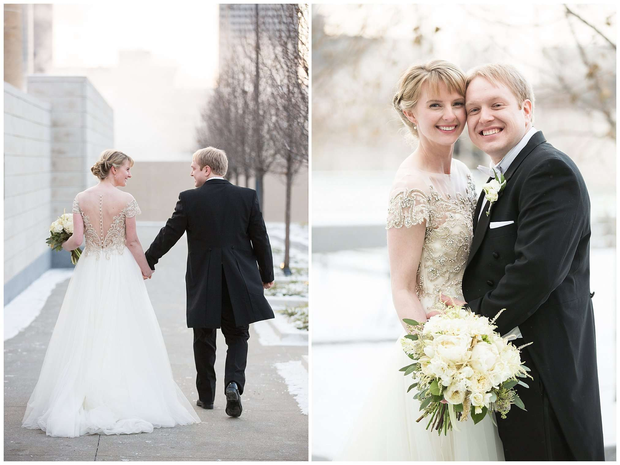 Perfect Winter Wedding at the Columbus Museum of Art 56