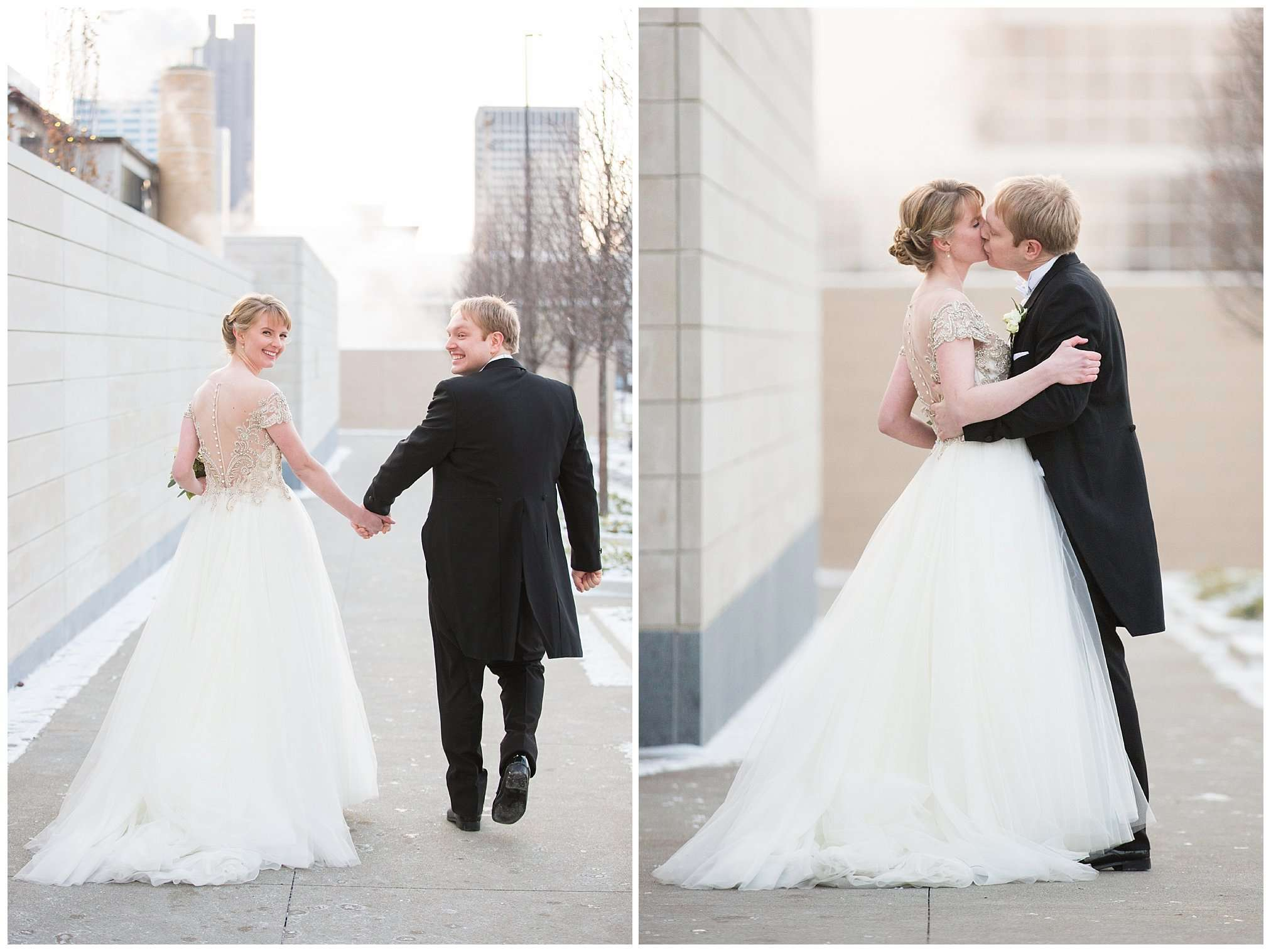 Perfect Winter Wedding at the Columbus Museum of Art 62