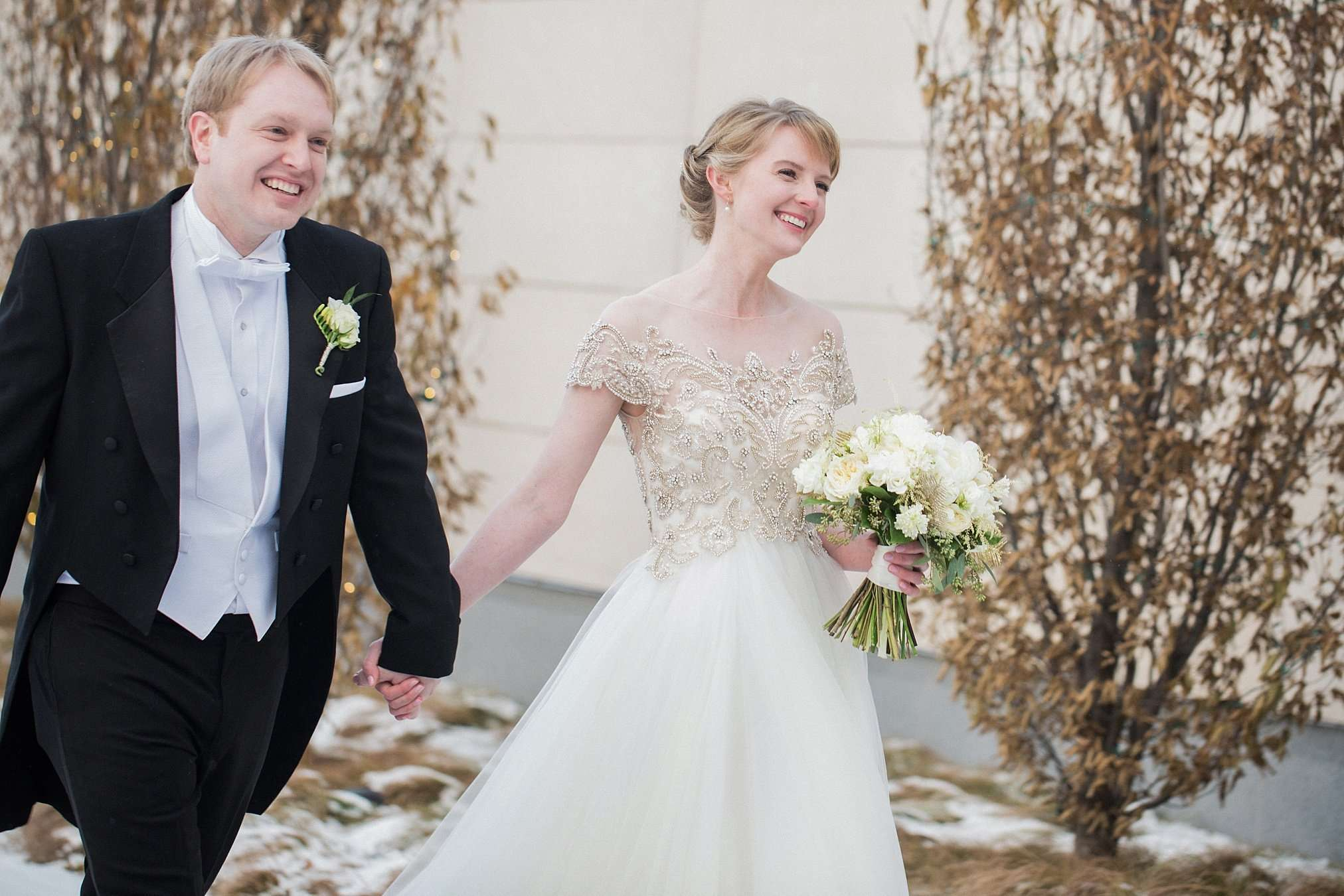 Perfect Winter Wedding at the Columbus Museum of Art 66