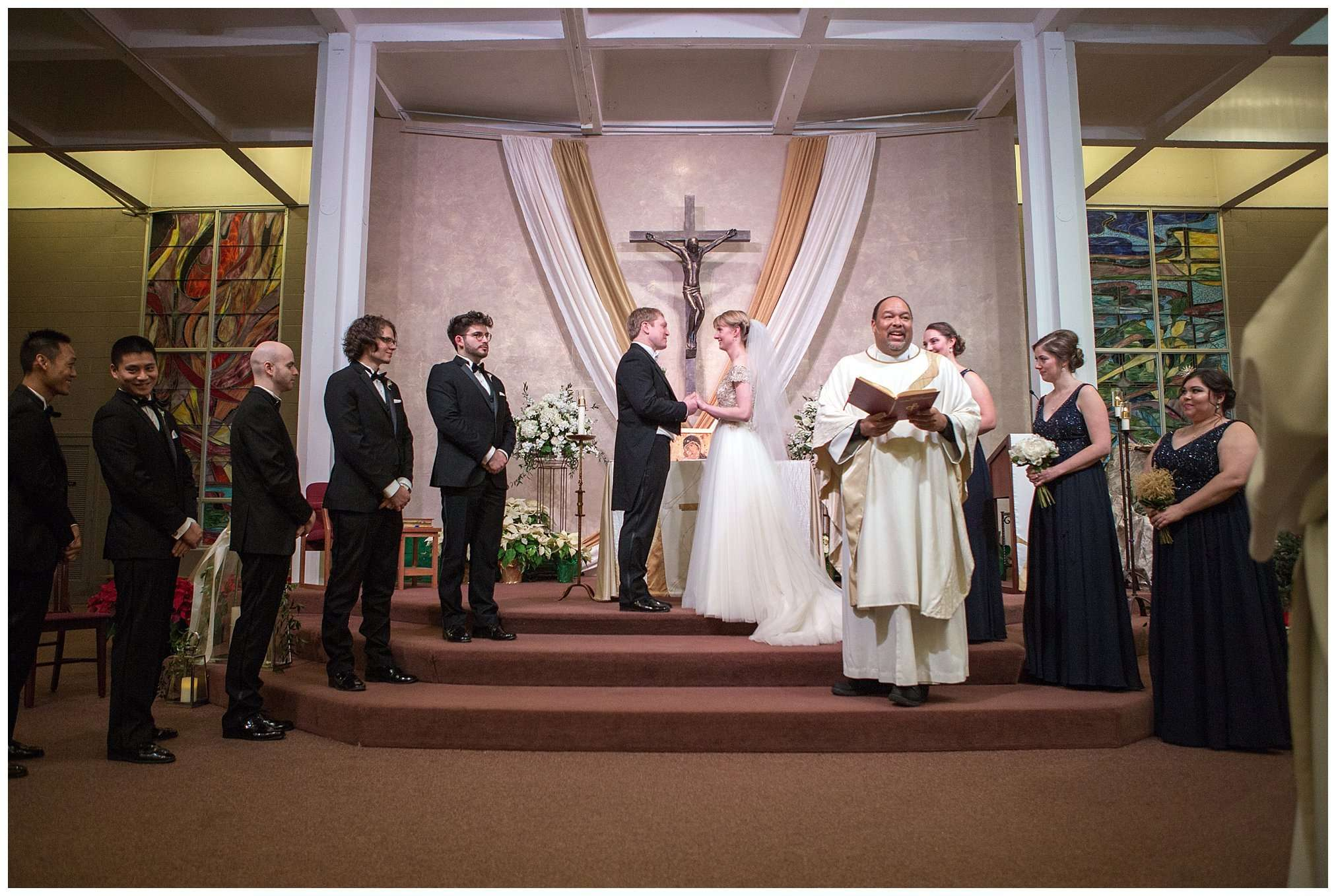 Perfect Winter Wedding at the Columbus Museum of Art 76