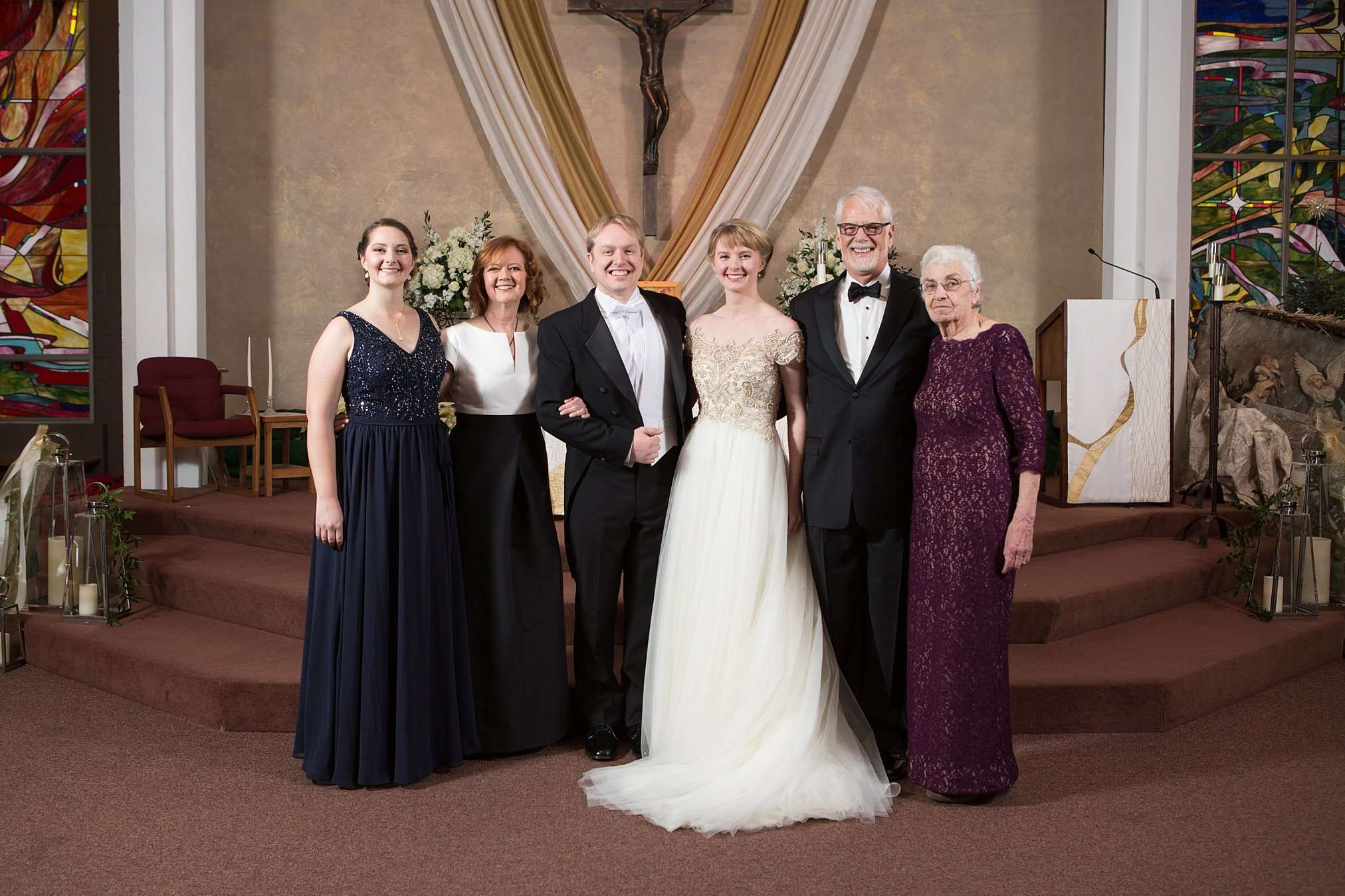 Perfect Winter Wedding at the Columbus Museum of Art 100