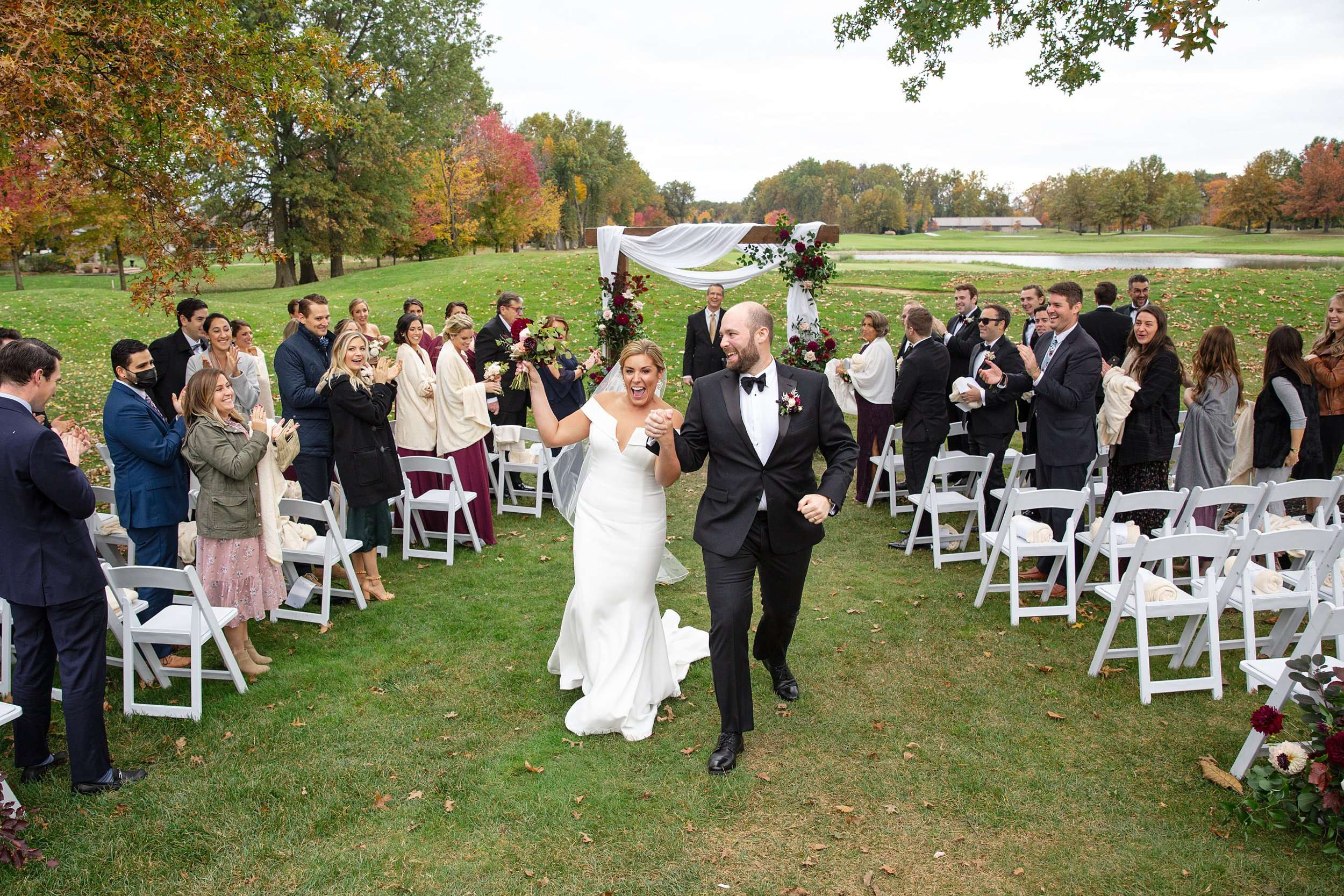 Fall Wedding at the Jefferson Golf and Country Club | Ohio Wedding Photography 2