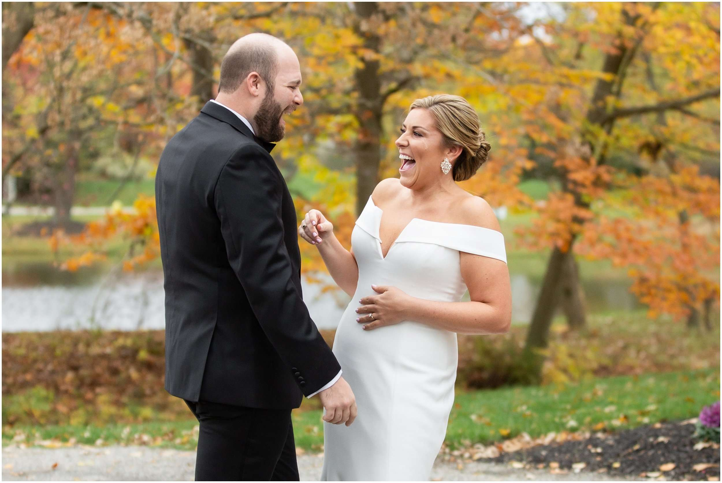 Fall Wedding at the Jefferson Golf and Country Club | Ohio Wedding Photography 40
