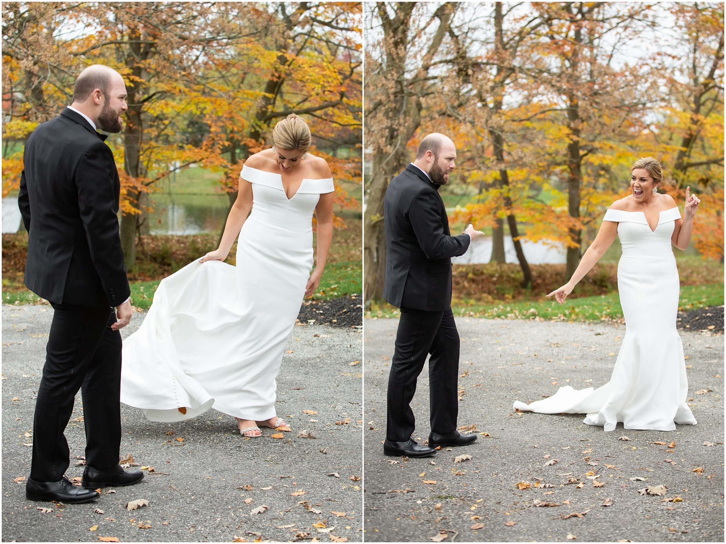 Fall Wedding at the Jefferson Golf and Country Club | Ohio Wedding Photography 42