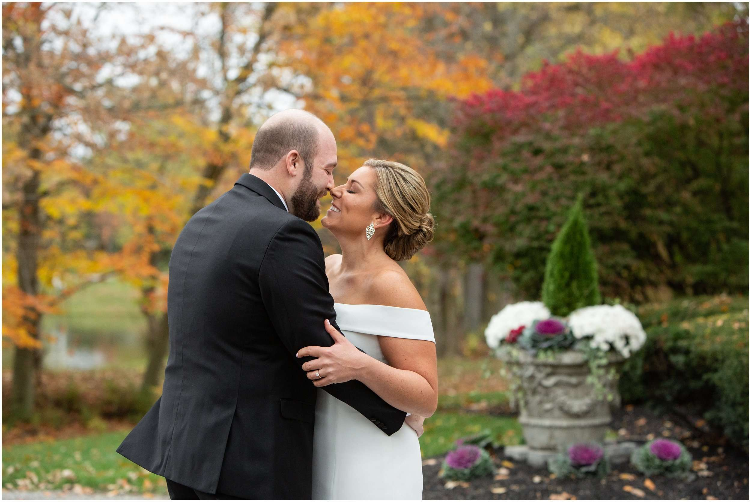 Fall Wedding at the Jefferson Golf and Country Club | Ohio Wedding Photography 44